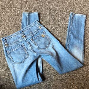 BCBGMaxazria high waisted jeans